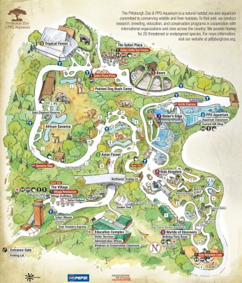 map-pittsburgh-zoo